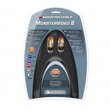Cabo antena 3mt Monster MCMV2APCX
