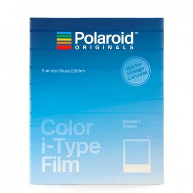 Filme colorido SE Summer Blue para camera i-Type
