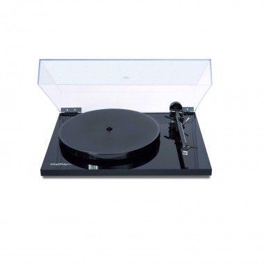 Gira Discos Preto Flexson Vinylplay