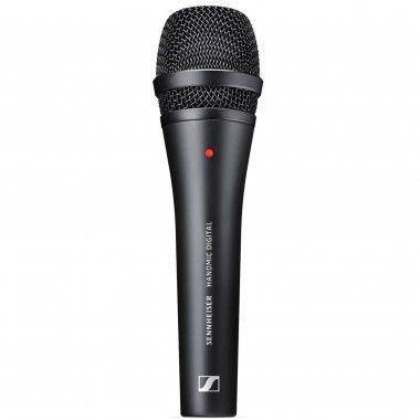 Microfone de mão digital Sennheiser para Apple