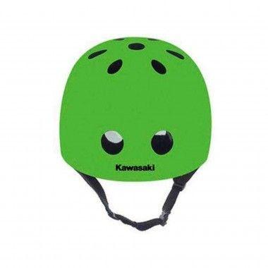 Capacete Proteção Kawasaki Verde Tamanho S/M