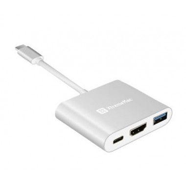 HUB-C + HDMI + USB-A + USB-C