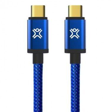 Cabo balístico Premium reversível USB-C p USB-A