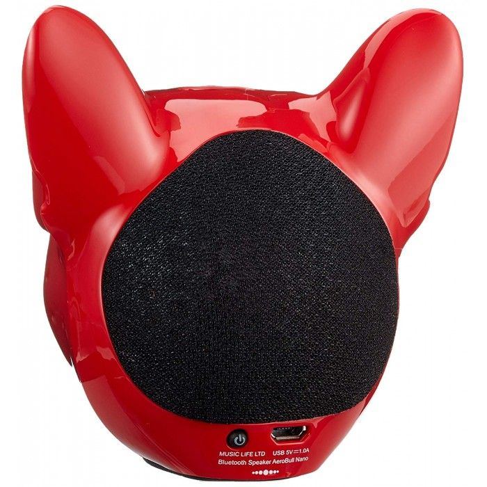 Coluna Bluetooth Jarre Aerobull Nano Vermelha