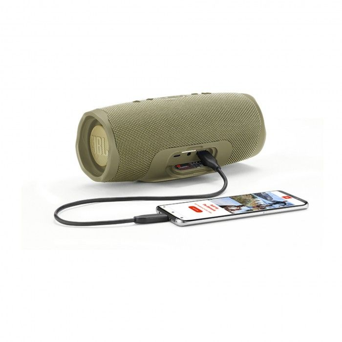 Coluna Bluetooth JBL Charge 4 Sand