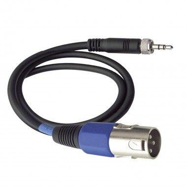 Cable Sennheiser jack 3,5-XLR (not balanceaded)