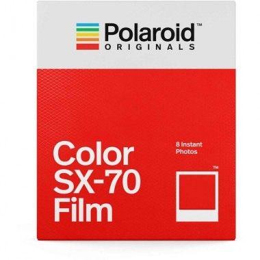 Filme colorido para câmara SX-70