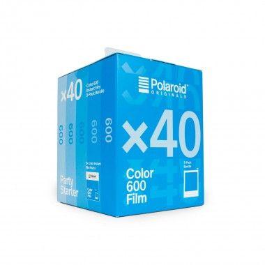 Filme colorido para camera 600 (Pack 40)