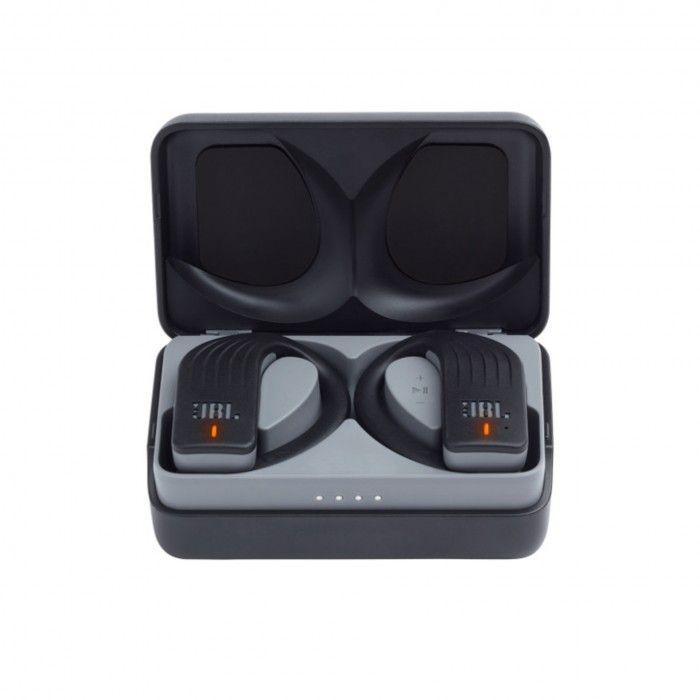 Auriculares bluetooth com MP3 JBL Endurance Peak - Preto