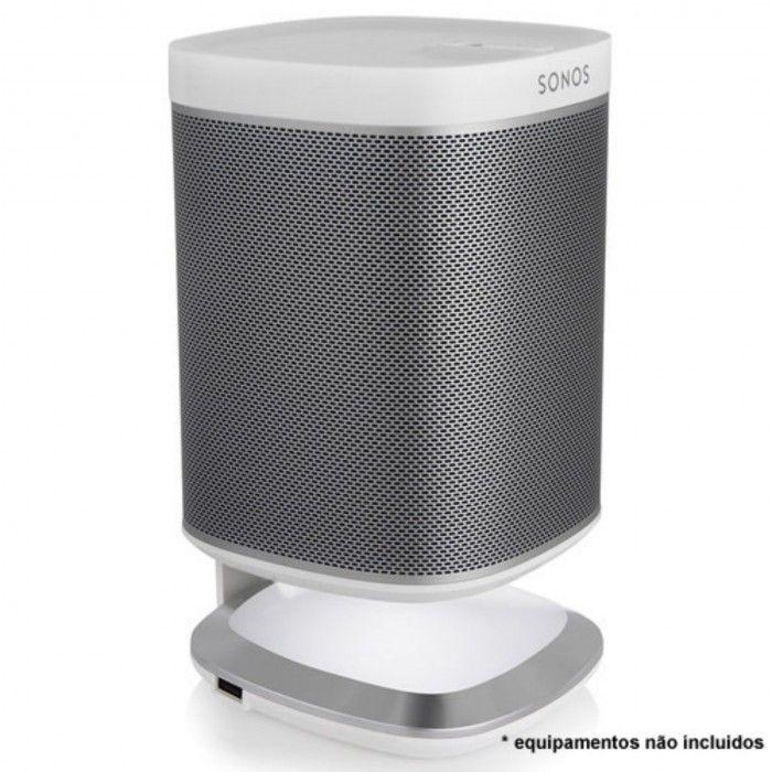 Suporte de mesa para Sonos Play 1 Branco (unidade)