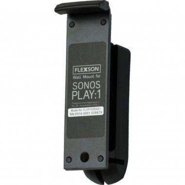 Suporte parede para Sonos Play 1 Preto (unidade)
