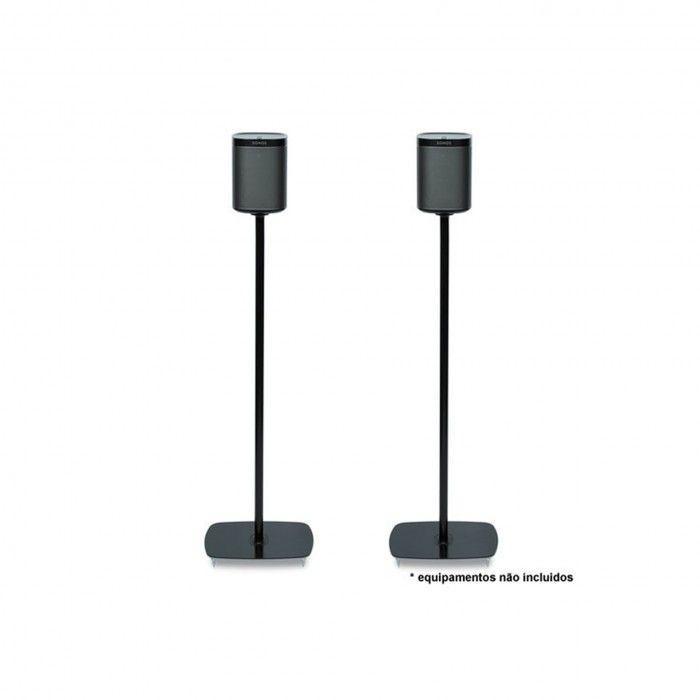 suporte de chão para Sonos Play 1 Preto (par)