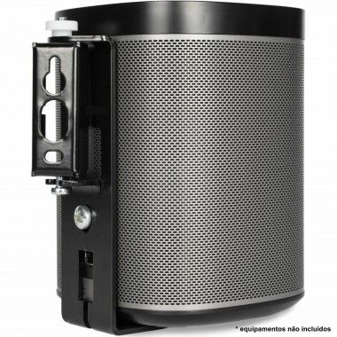 Suporte de parede para Sonos Play 1 Preto (unidade)