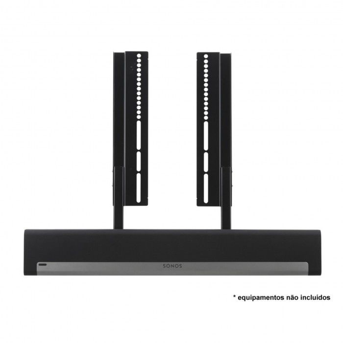 Suporte de parede para Sonos Playbar Preto