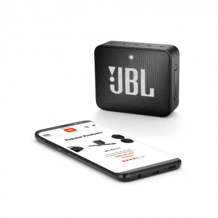 Coluna Bluetooth JBL GO2 Preto