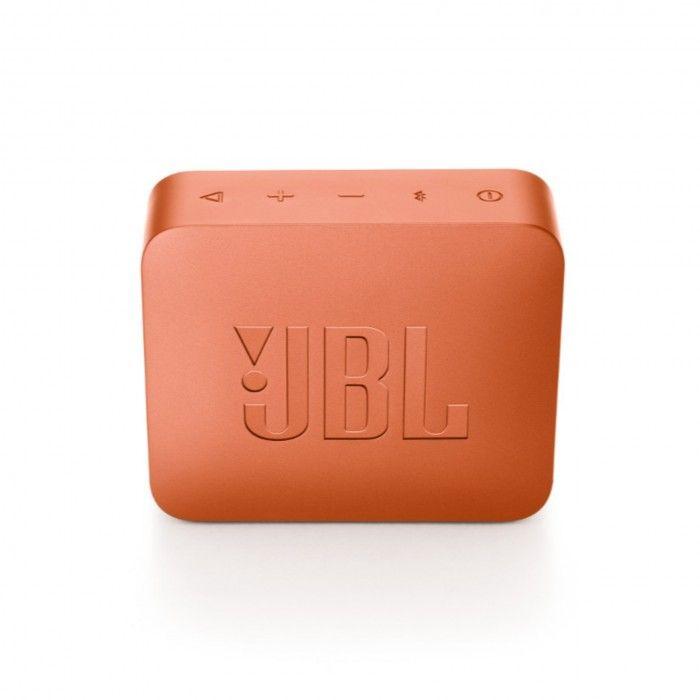 Coluna Bluetooth JBL GO2 Laranja