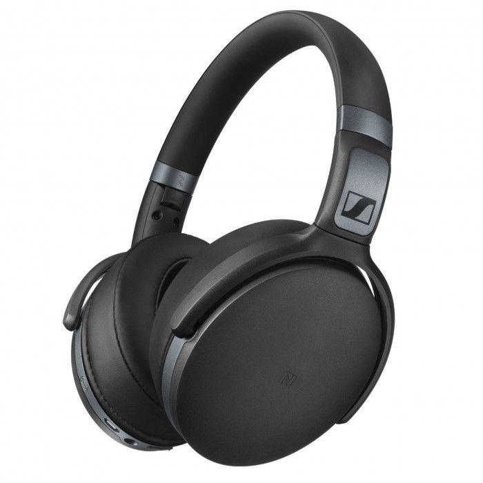 Auscultador Bluetooth HD 4.40 Preto