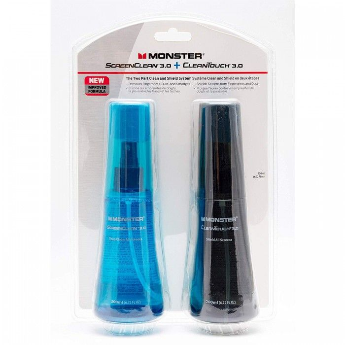Kit Limpeza Monster ScreenClean + CleanTouch