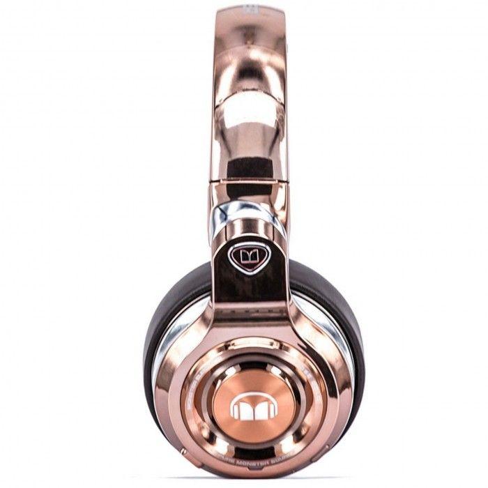 Auscultador Bluetooth Element OverEar Rosa/dourado