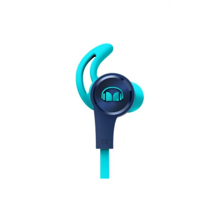 Auriculares Monster iSport Achieve com micro Azul