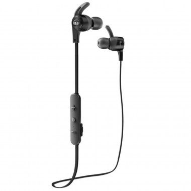 Auricular Bluetooth Monster iSport Achieve com micro Preto