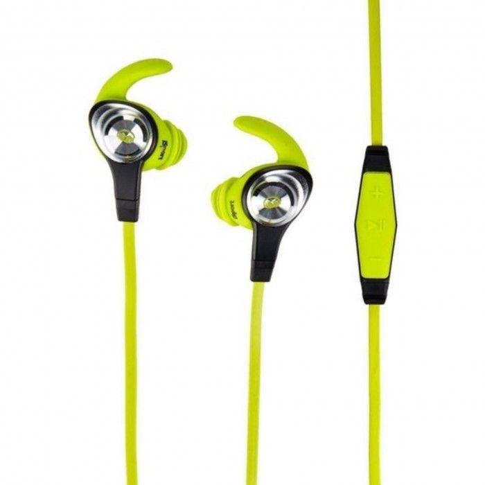 Auriculares Monster iSport Intensity verde