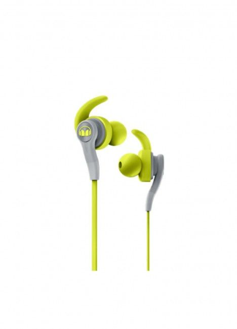 Auricular Monster iSport Compete Green