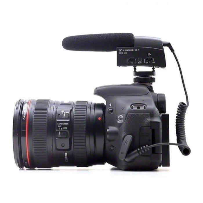 Microfone mini-Shotgun Sennheiser MKE 400