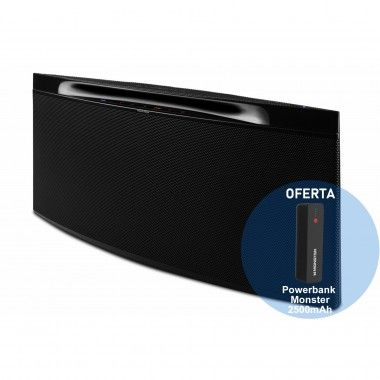 Coluna bluetooth Monster Streamcast S1 Mini Preta