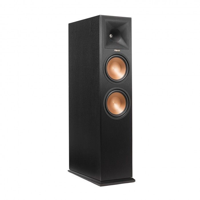 Colunas de chão Dolby Atmos Klipsch RP280FA Preta