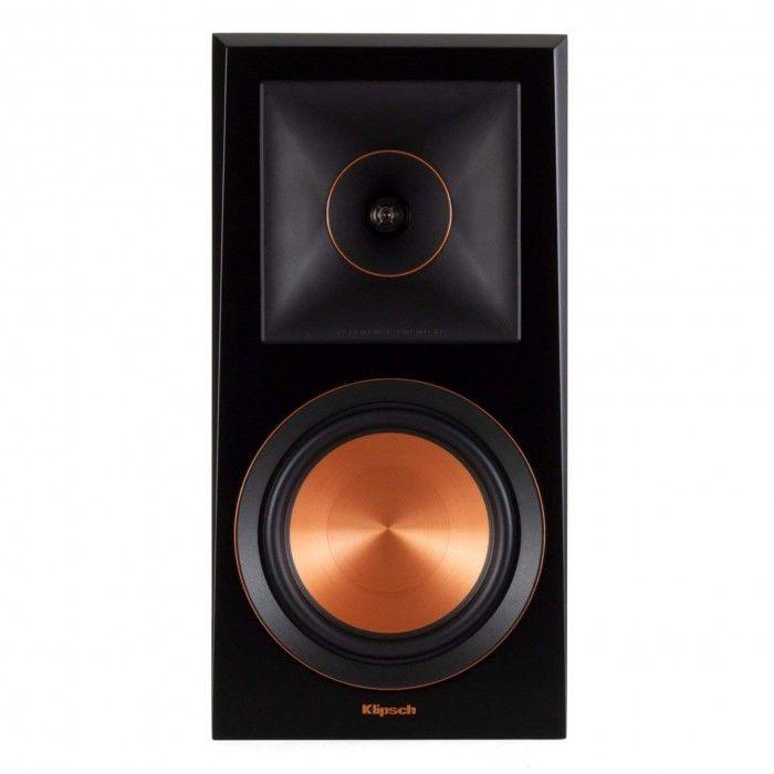 Coluna Klipsch RP-600M Ebony Vinyl (Par)
