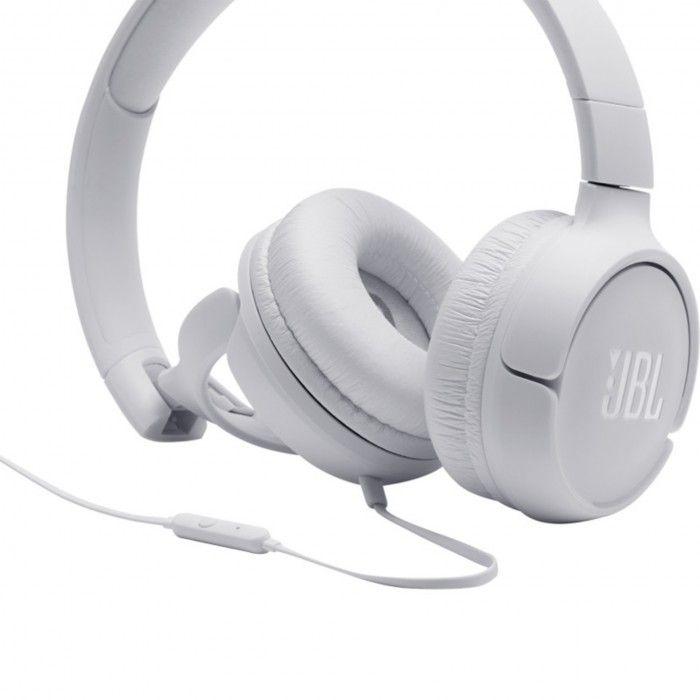 Auscultadores com fio JBL Tune 500 Branco