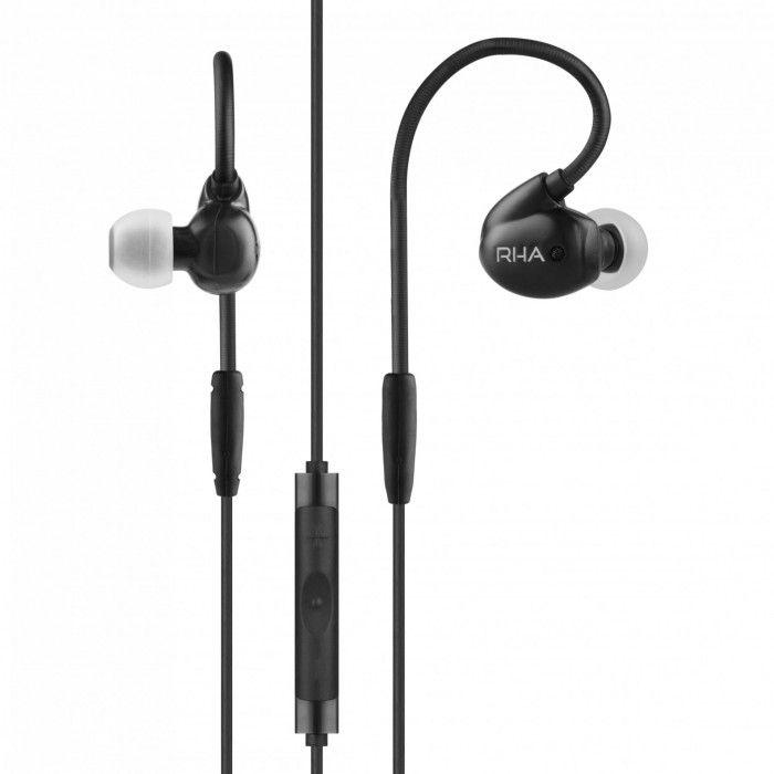 Auricular RHA T20i (Apple) Preto/Cinzento