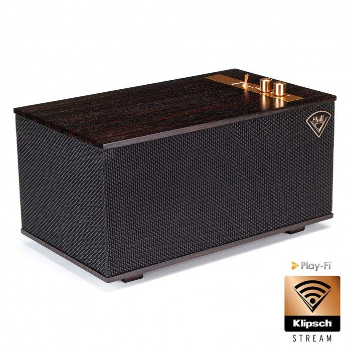 Coluna Wireless Klipsch The Three Ebony