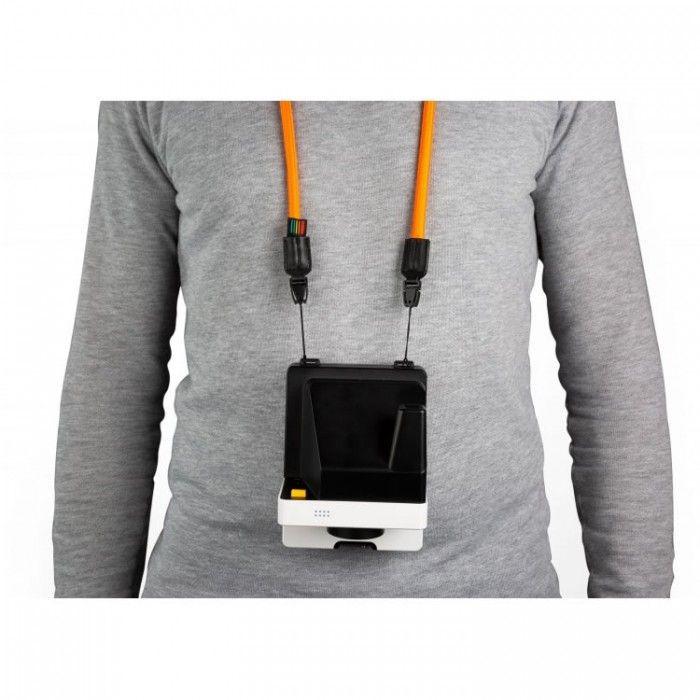 Correia redonda para câmera Polaroid