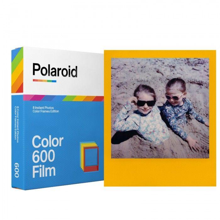 Pelicula com molduras coloridas para camera 600