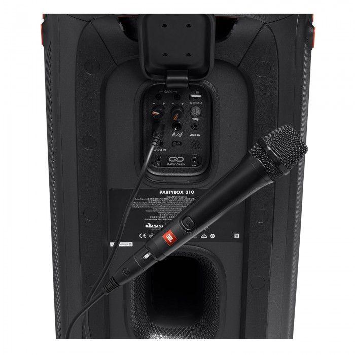 Microfone JBL PBM 100 para Partybox