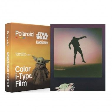 Filme Colorido Polaroid Mandalorian Edition