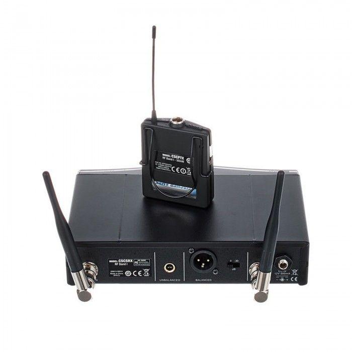 Sistema de instrumentos AKG W470 Banda 7