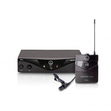 Sisteams microfone de lapela AKG WMS45 Presenter