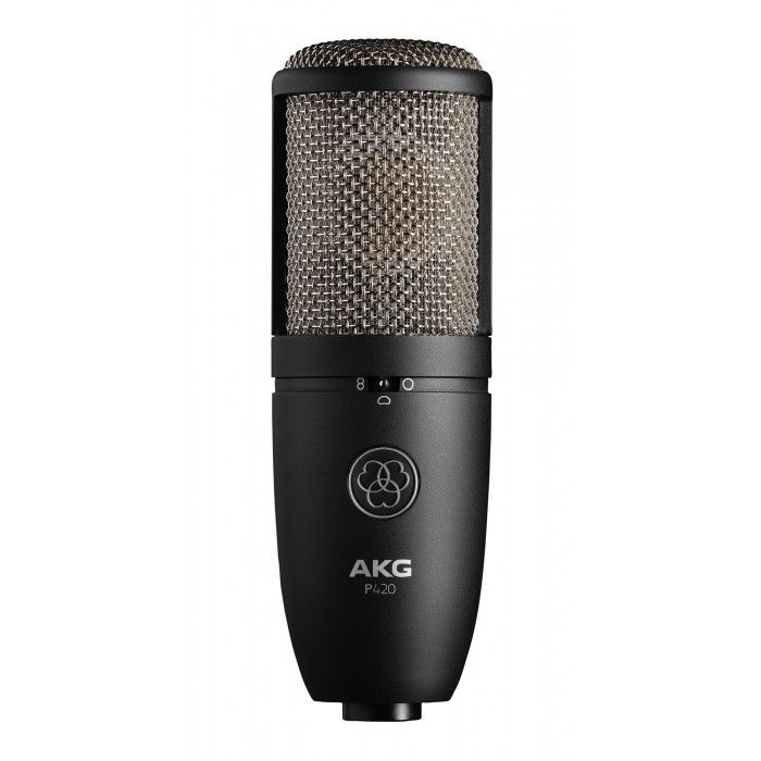 Microfone de estúdio AKG P420