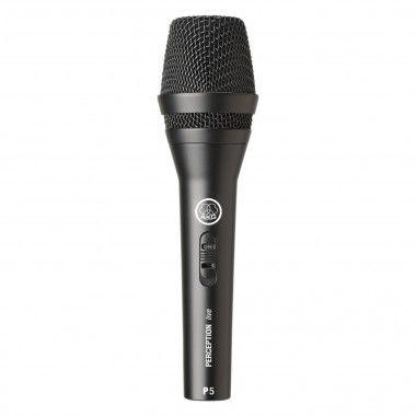 Microfone dinâmico para voz AKG P5 S