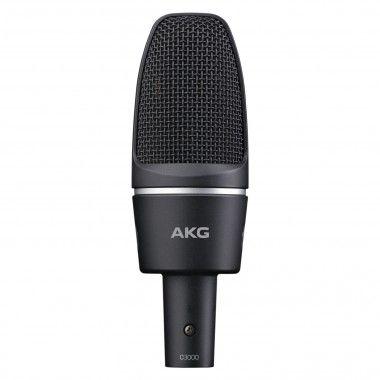 Microfone diafragma AKG C3000