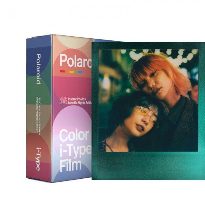 Filme colorido p/ camera i-Type MetallicNights