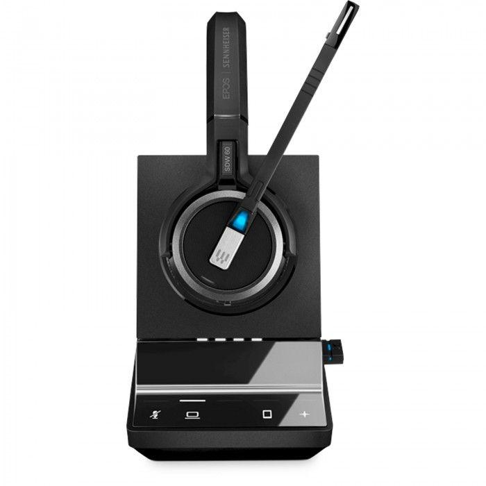 Micro-auscultador estéreo, DECT, PC/MOBILE