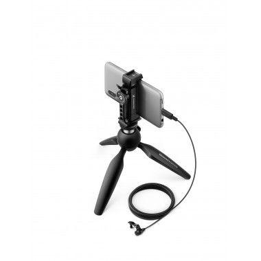 Mobile Kit com microfone lapela com USB-C