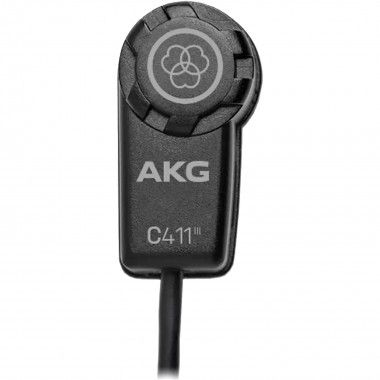 Microfone miniatura de condensador, com XLR