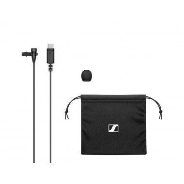 Microfone de Lapela com ficha USB-C Sennheiser XS LAV