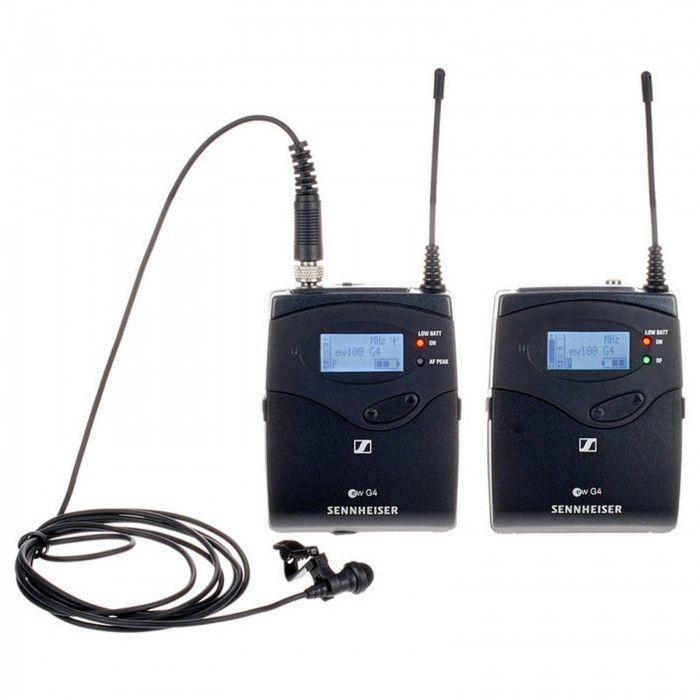 Sistema de lapela Sennheiser EW 122P G4 A