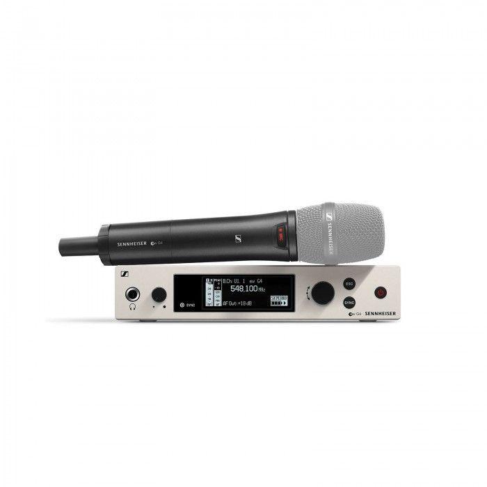 Sistema de mão Sennheiser EW 300 G4 B + SKM AW